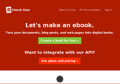 Ebook Glue is a complete blog to Ebook converter