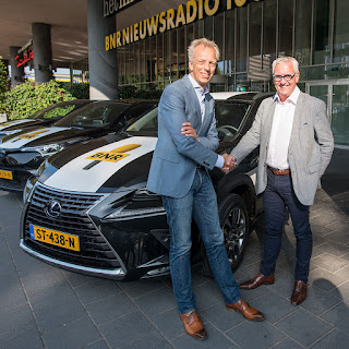 Hertz levert wagenpark BNR Nieuwsradio