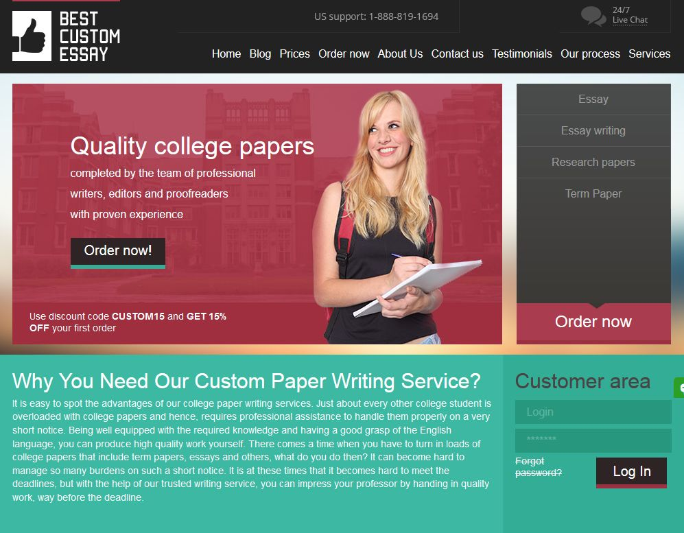 Research paper service industry