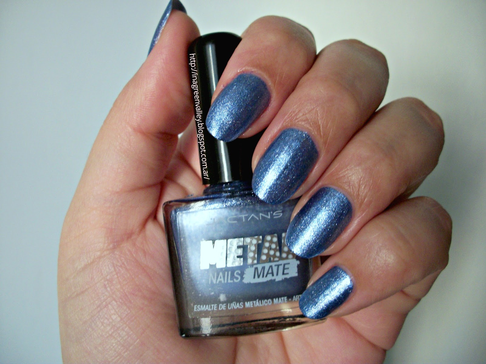 Grinvali: Reseña: Esmalte de uñas Metal Nails Mate - Jactans - 006 ...