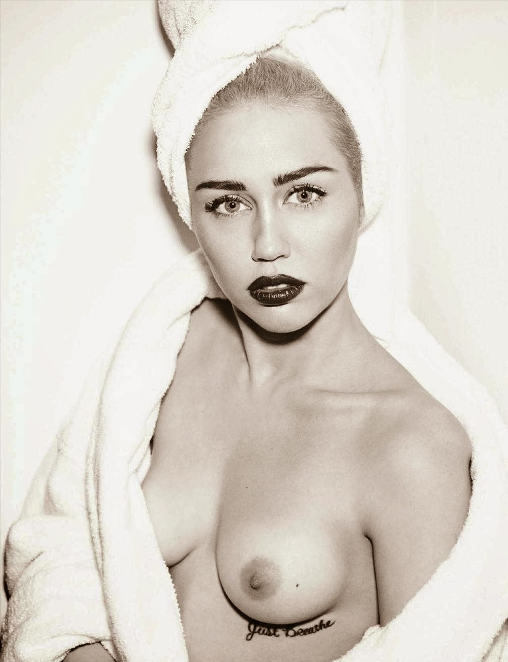 Miley cyrus nude interview opinion
