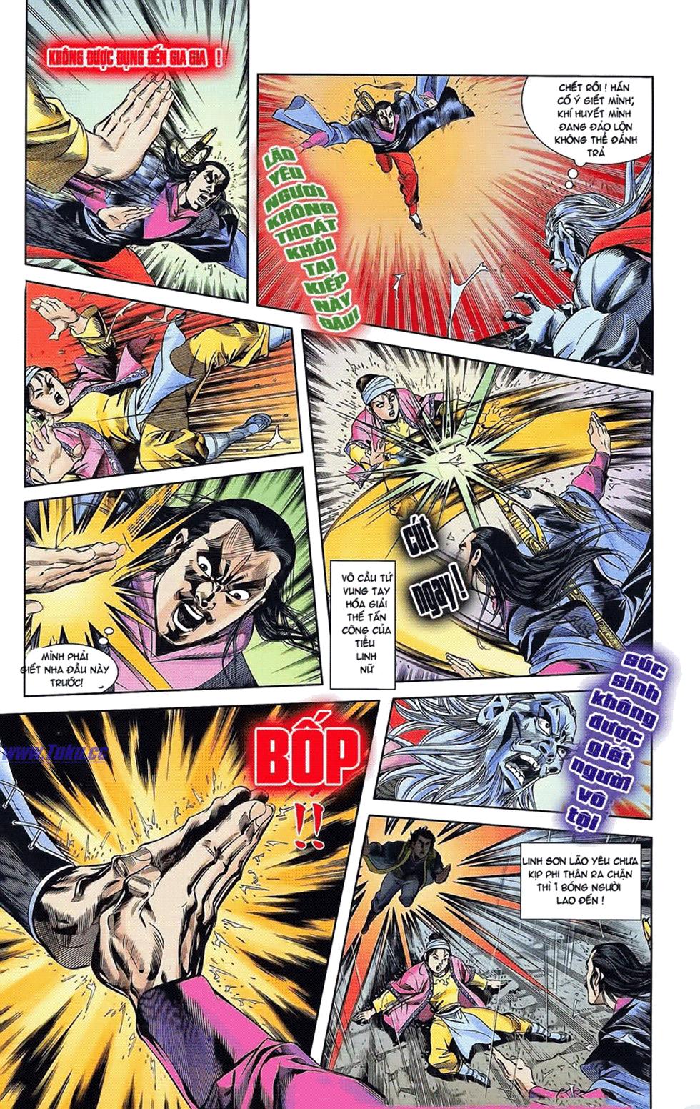 Tần Vương Doanh Chính chapter 19 trang 14