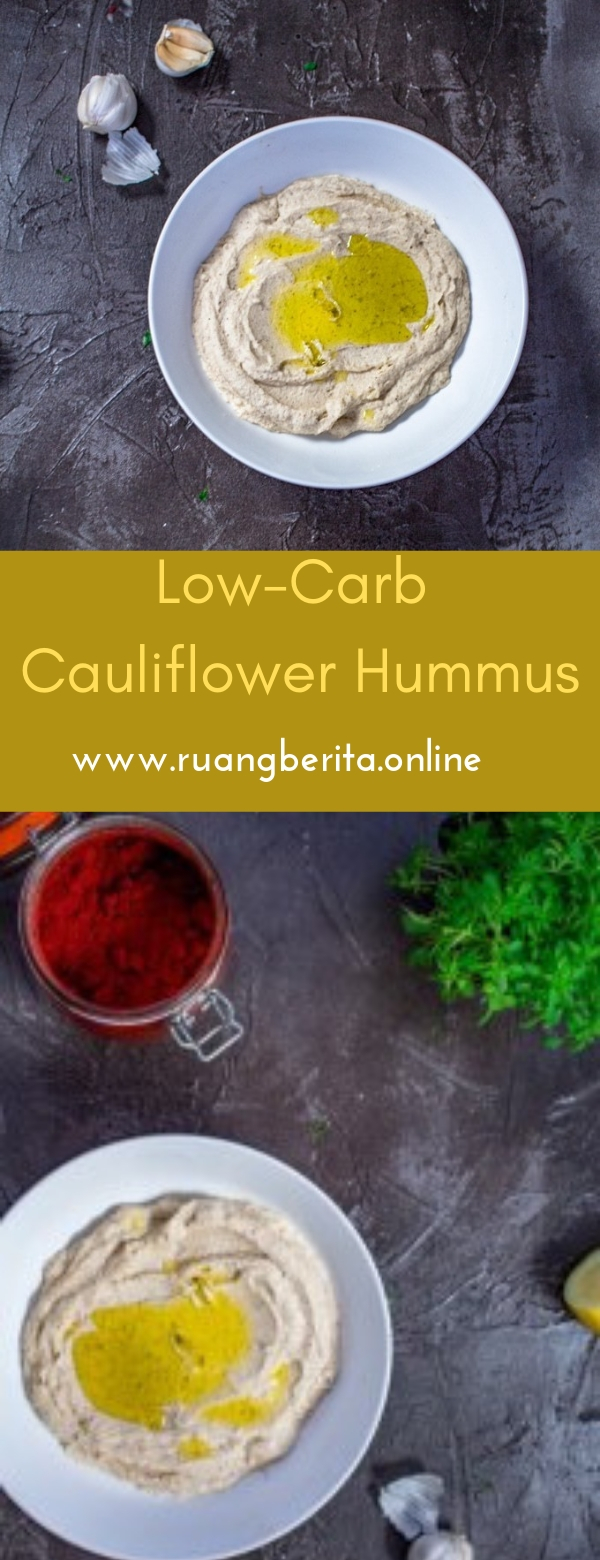 Low-Carb Cauliflower Hummus