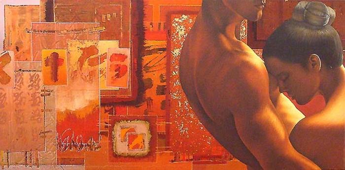 David Graux 1970 | French Symbolist painter