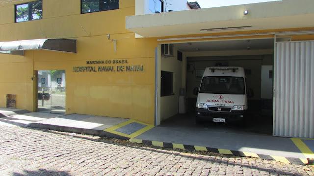 Hospital Naval de Natal completa 75 anos de assistência médico-hospitalar na capital potiguar