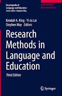 Research Methods in Language and Education 3rd edition