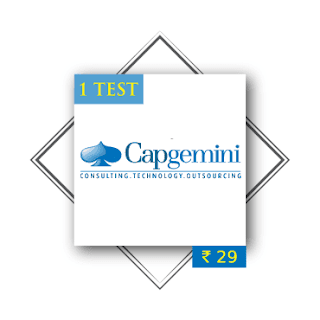Capgemini Placement Paper and Written Communication Paper (Questions and Answers)