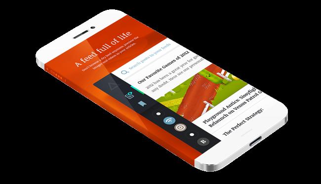 Iphone 6 App Screen Mockup Design