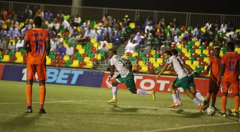 المصري يحقق فوز صعب وهام خارج ملعبه على فريق نواذيبو بثلاث اهداف لهدفين في كأس الكونفيدرالية الأفريقية