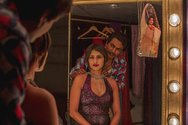 Kubra Sait as Kukoo with Gaitonde (Nawazuddin Siddiqui), Transgender woman, Sacred Games