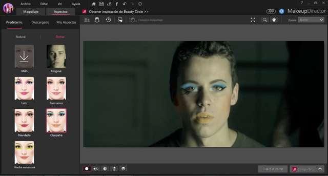 CyberLink MakeupDirector Deluxe Versión 2.0.1 Español
