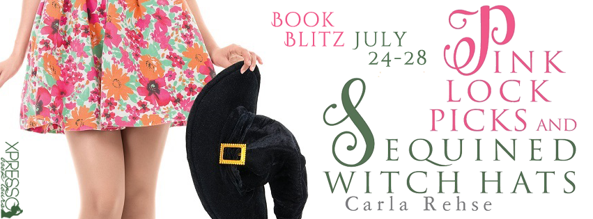 Pink Lock Picks and Sequined Witch Hats Book Blitz