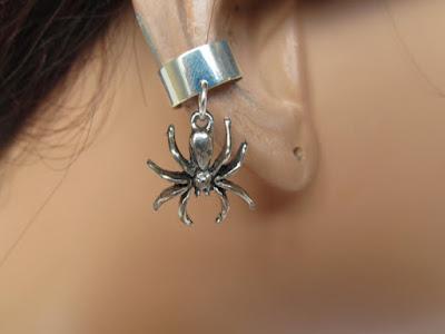 Steampunk Spider Earcuff