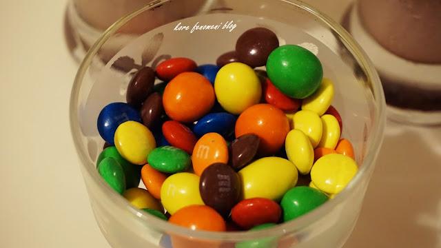 m&m's çikolata