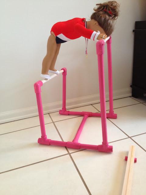 Two It Yourself Diy American Girl Gymnastics Bar