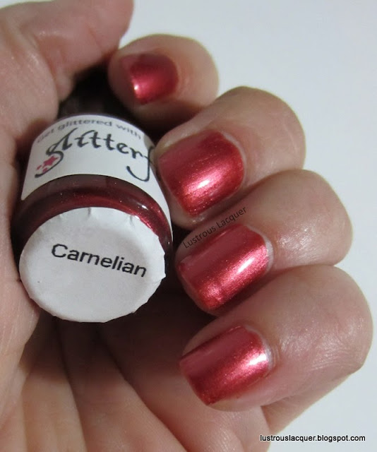 Glitterfied Nails Carnelian