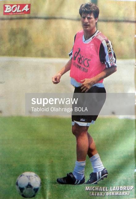 Michael Laudrup Ajax Denmark