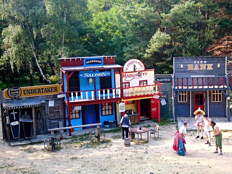 westernove,mestecko, park, western, vylet, tip, divoky, zapad,Boskovice
