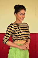 Actress Regina Candra Latest Pos in Green Long Skirt at Nakshatram Movie Teaser Launch  0079.JPG
