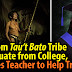 MEET: Juda Diklay, 1st from Palawan's Indigenous Tau't Bato tribe to Graduate from University
