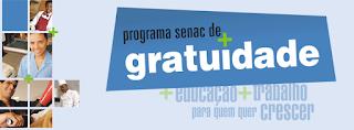 Cursos Gratuitos Senac Colatina 2016
