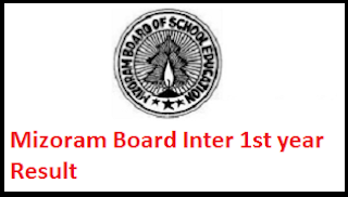 Mizoram Board Inter 1st year Result 2017