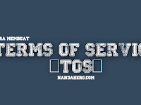 Cara Membuat Terms of Service (TOS) di Blog dengan Privacy Policy Online