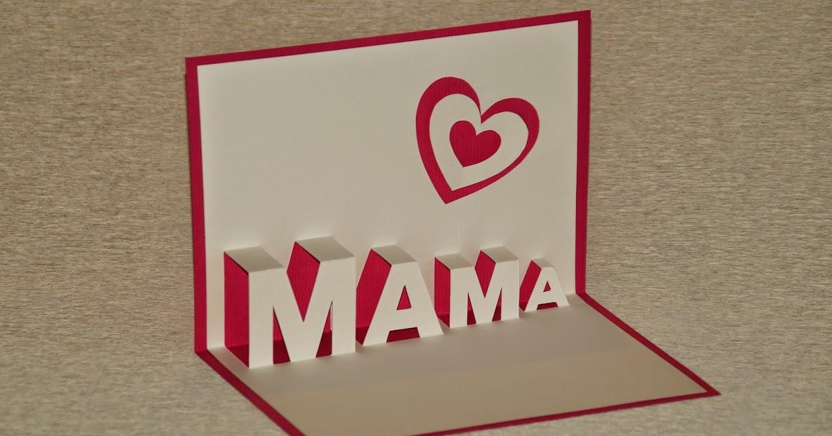 basteln und mehr muttertagsgeschenke basteln pop up. Black Bedroom Furniture Sets. Home Design Ideas