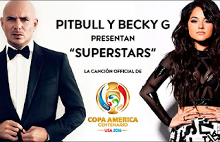 Pitbull Feat Becky G - Superstar (Copa America 2016) Lyrics