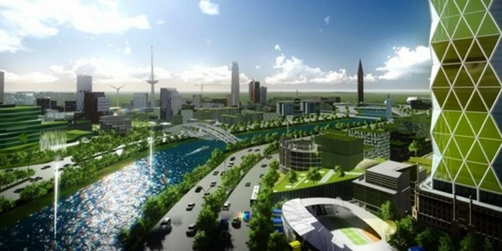 Hi-tech City of New Clark, Philippines