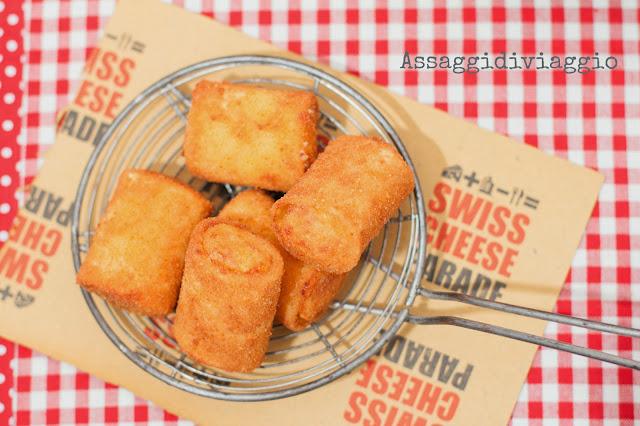 Paccheri 'mbuttunati e fritti - paccheri ripieni e fritti