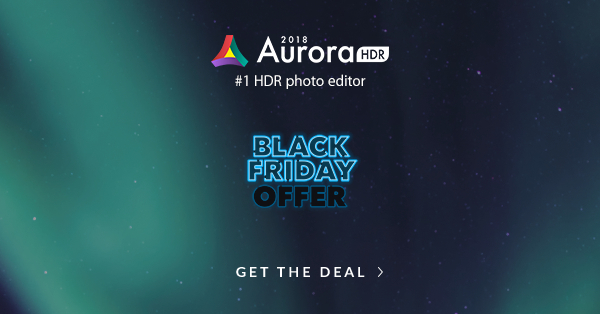 Aurora HDR Black Friday Offer