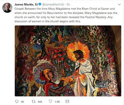 James Martin tweet