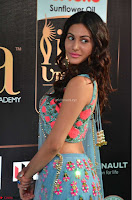 Amyra Dastur in Flower Print Choli Transparent Chunni at IIFA Utsavam Awards 02.JPG