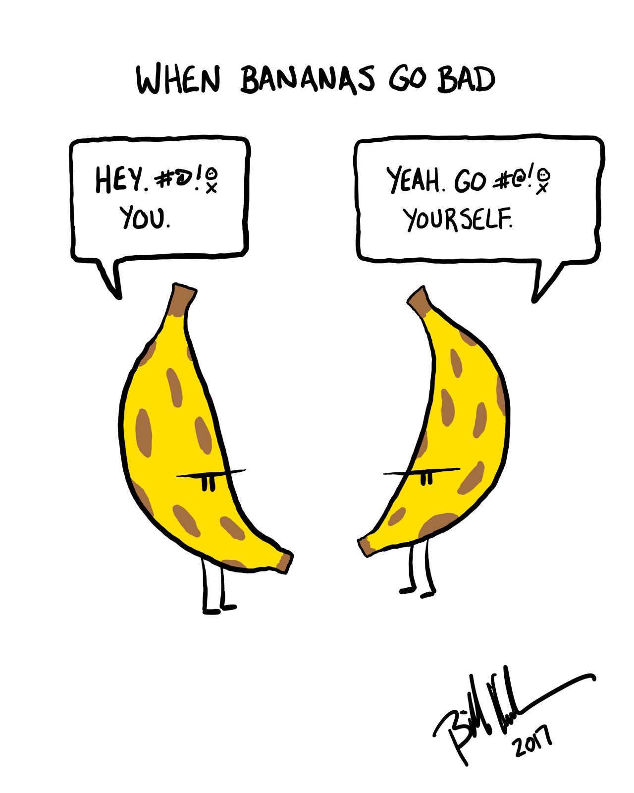 When Bananas Go Bad