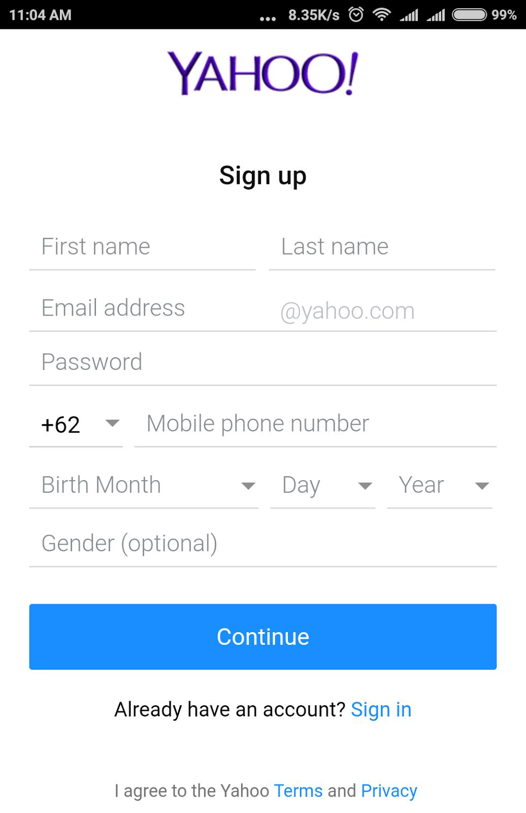 Cara daftar email yahoo indonesia lewat hp android cara buat akun cara daftar email yahoo indonesia lewat hp android stopboris Gallery