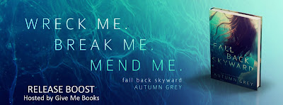 Release Boost for Fall Back Skyward by Autumn Grey with Giveaway!!