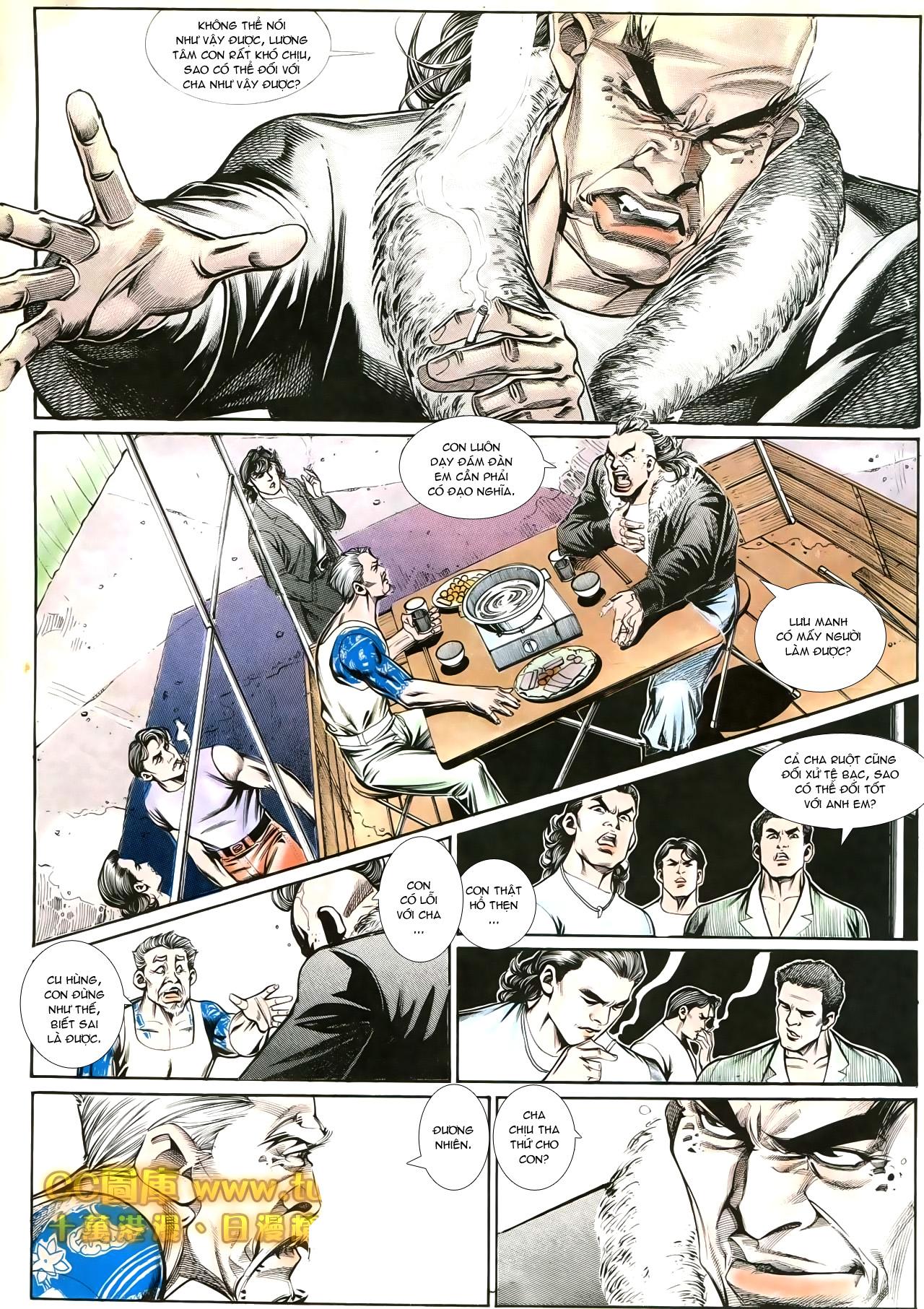 Người Trong Giang Hồ chapter 192: bá khí trúc liên bang trang 20