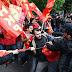 La violencia se desató en Estambul, 15,000 antidisturbios aplacan protesta / Un muerto