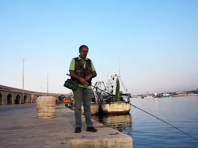 10 luglio 2016 - La mia prima volta sul porto di Mola di Bari