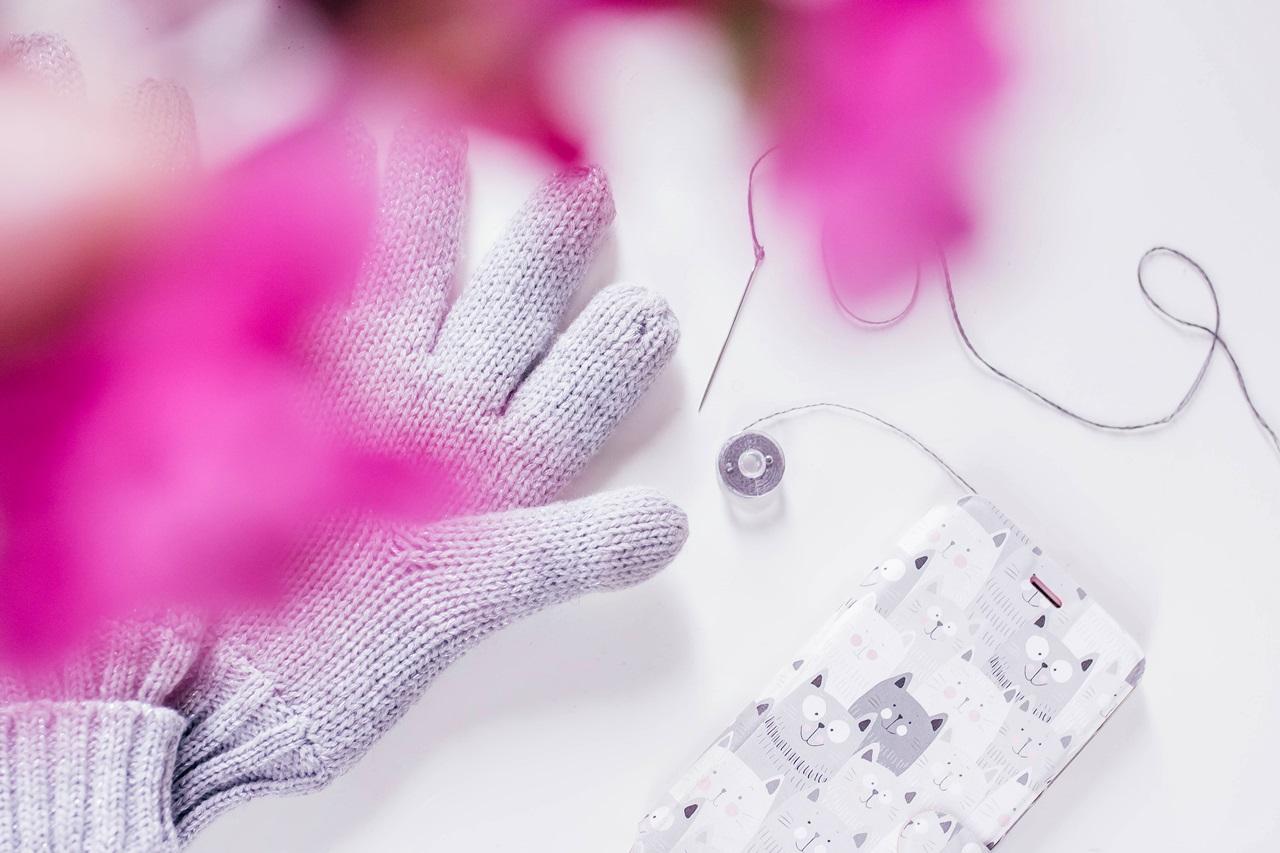 Rękawiczki dotykowe do smartfona jak zrobić ? DIY