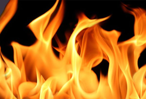 Fire breaks out floating resort, Chavara, News, Kerala, Fire