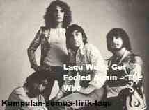 Lirik Won't Get Fooled Again The Who