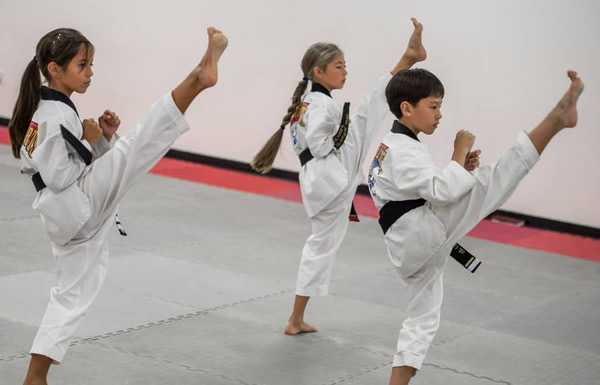 Kids and martial art