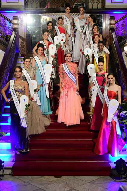 Presentación de candidatas a Reinas del Carnaval de Las Palmas de Gran Canaria 2017