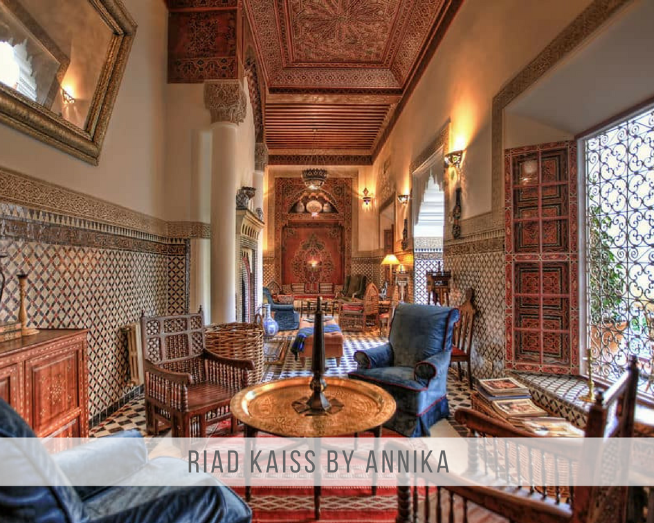 Riad Kaiss truly over delivers. Both on a fascinating riad design and on extra's