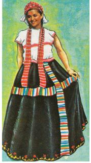 087006fcde El traje típico de la mujer usa huipil de color blanco sencillo sin mangas