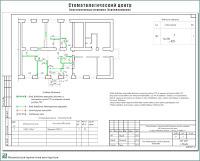 Проект стоматологического центра. Конструктивные решения - План демонтируемых и вновь возводимых перегородок