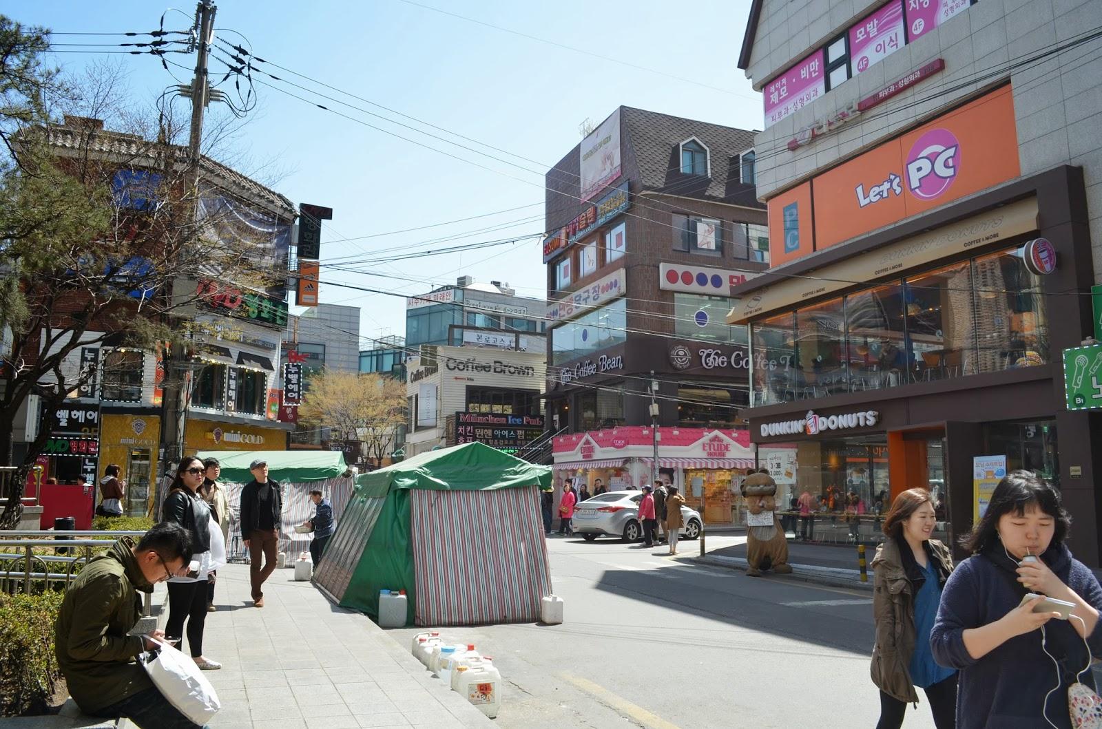 Hongdae Food Market
