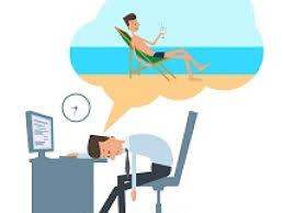 férias e trabalho